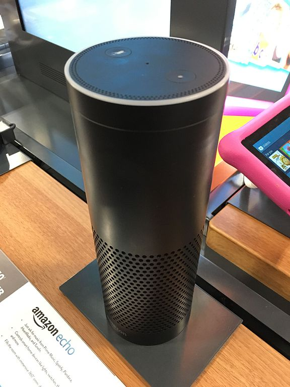 Amazon Alexa voice activated assistant